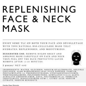 FACE AND DECOLETTE MASK