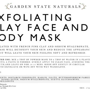 DIY CLAY MASK FRONT 2